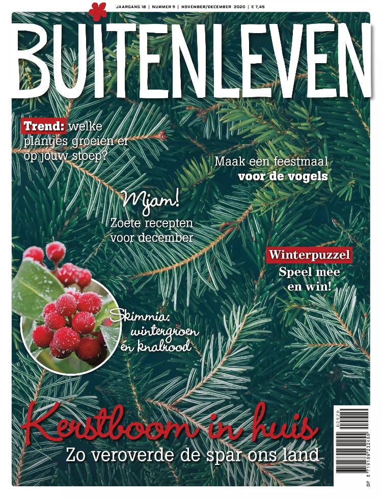 Tijdschrift Buitenleven cover - nov-dec 2020