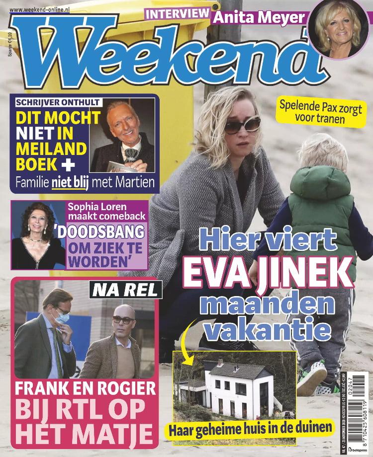 Tijdschrift Weekend 47 cover - november 2020