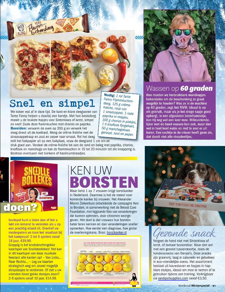 Tijdschrift Weekend Winterspecial - winter 2020