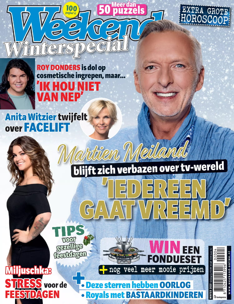 Tijdschrift Weekend Winterspecial cover - winter 2020