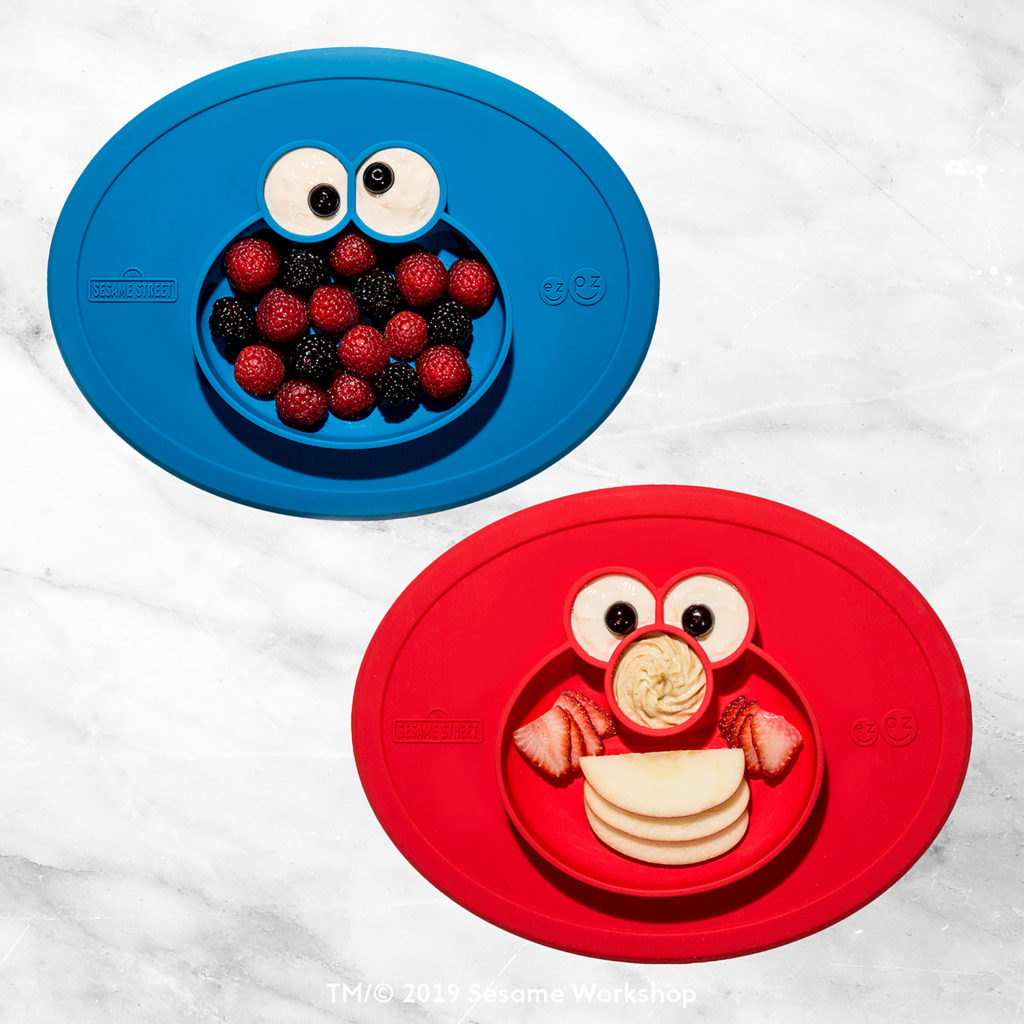Elmo Mat en Cookie Monster Mat - EZPZ