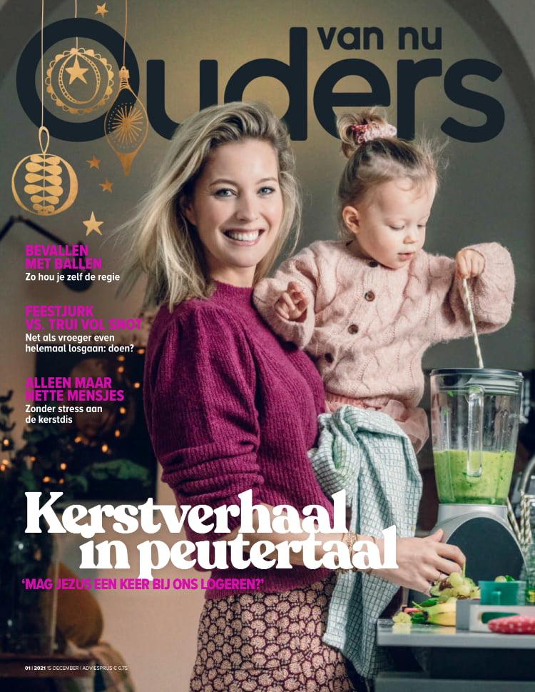 Tijdschrift Ouders van Nu cover - december 2020