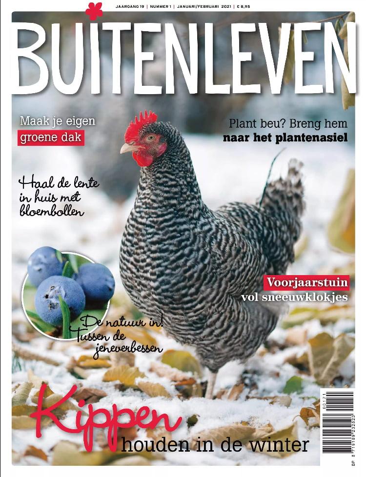 Tijdschrift Buitenleven 1 cover - januari 2021