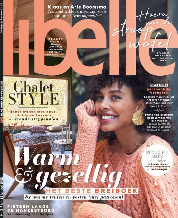 Tijdschrift Libelle 3 cover - januari 2021