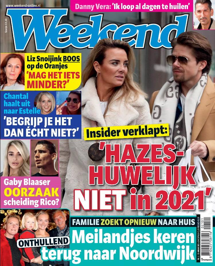 Tijdschrift Weekend 1 cover - januari 2021