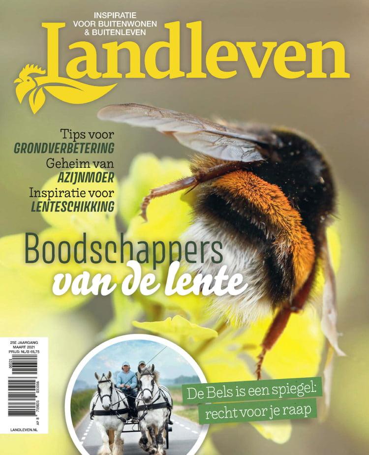 Tijdschrift Landleven cover - maart 2021