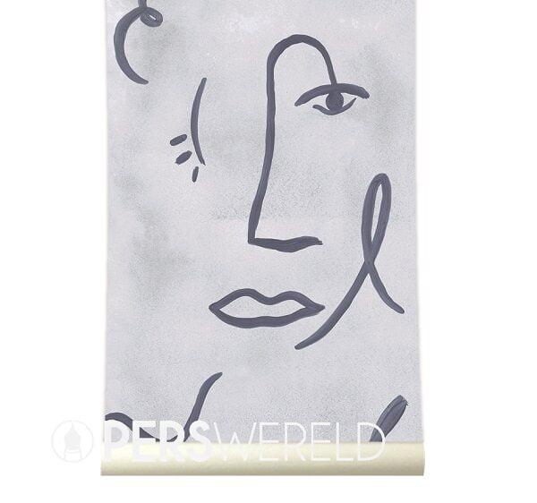 roomblush-behang-faces-grey