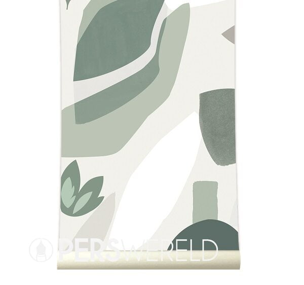 roomblush-behang-pieces-green
