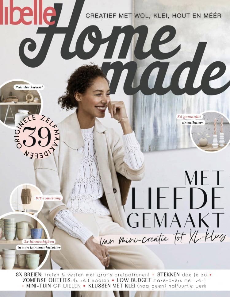 Tijdschrift Libelle Homemade cover - april 2021