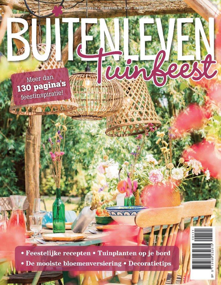 Tijdschrift Buitenleven Tuinspecial cover - juni 2021