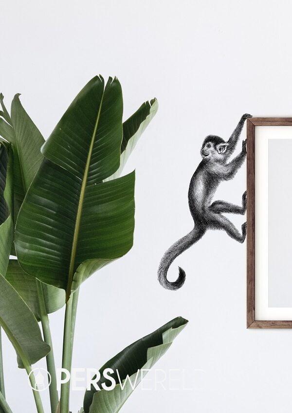 fineforest-muursticker-aapje
