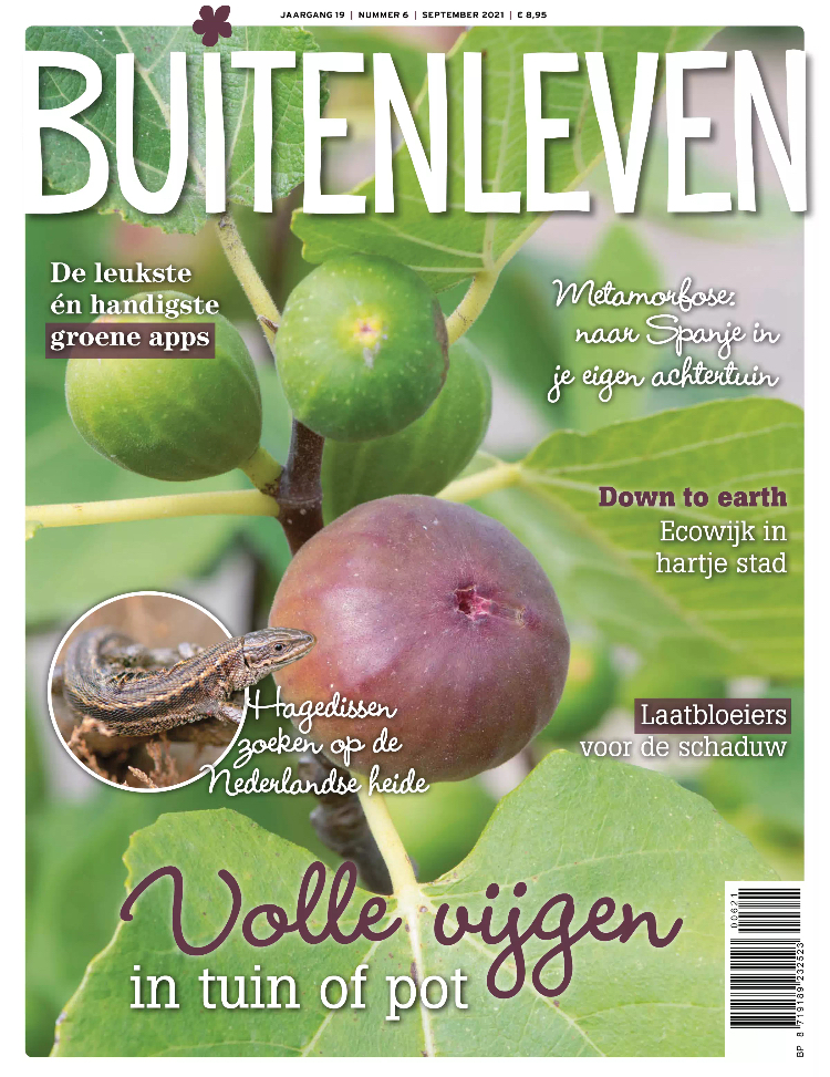 Tijdschrift Buitenleven cover - september 2021