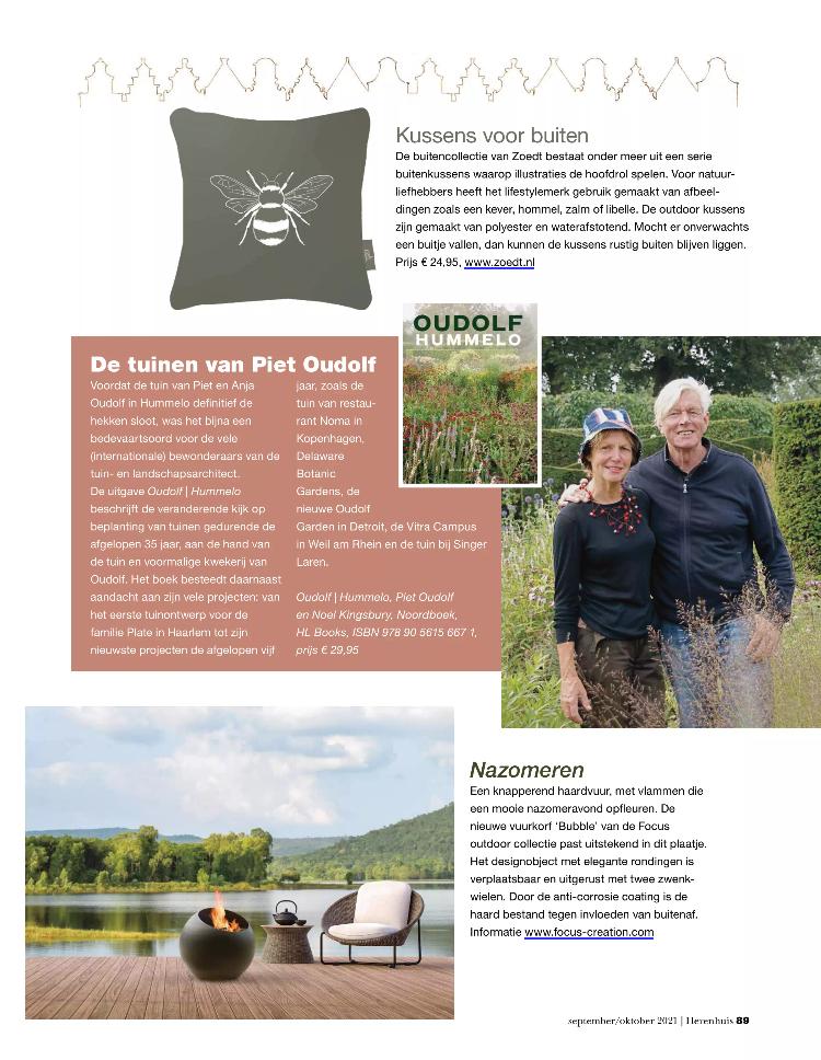 Tijdschrift Herenhuis magazine 85 2 - september 2021