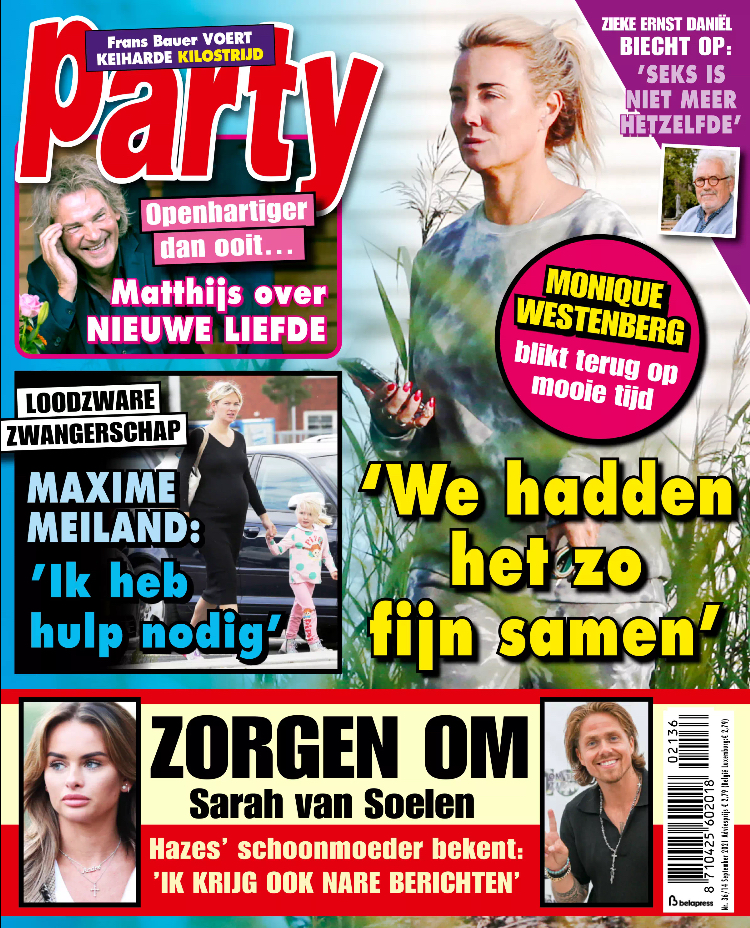 Tijdschrift Party 36 cover - september 2021