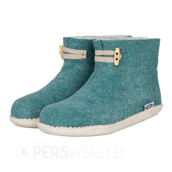 esgii-vilten-damesslof-high-boots-seagreen
